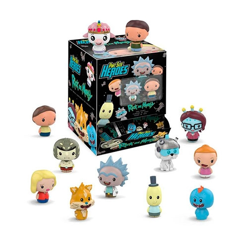 Figura Rick And Morty Pint Size Heroes Blind Bag