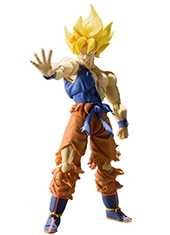 Figura Dragon Ball Z Son Goku Super Warrior Awakening S.H. Figuarts Bandai
