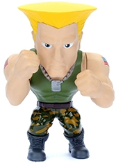 Figura Street Fighter Guile METALS Die Cast