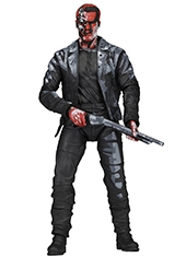 "Figura Terminator 2 T-800 Classic Video Game Appearance 7"" Neca"