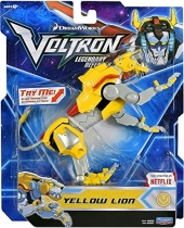 Figura Voltron Legendary Defender Yellow Lion