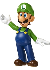 Figura World Of Nintendo Luigi 2.5""
