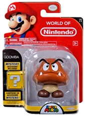 Figura World of Nintendo Goomba con accesorio