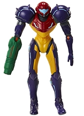 Figura World Of Nintendo Samus Gravity Suit 4""