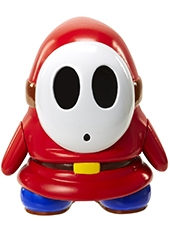 "Figura World Of Nintendo Shy Guy 4"" C/ Moneda"