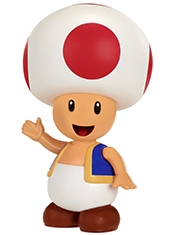 Figura World Of Nintendo Toad Red