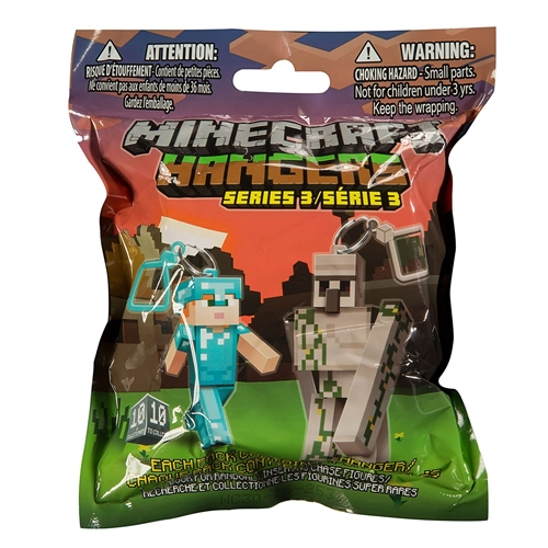 "Figura Minecraft Hangers 3"" Blind Pack Series 3"