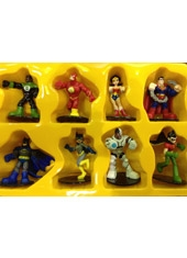 Figuras DC Super Friends Set de 8