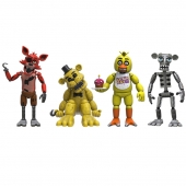 "Figuras Five Nights At Freddys Set 4 pack 2"" Set 1"