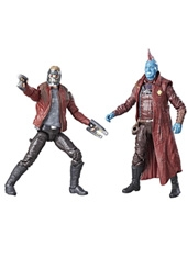 Figuras Marvel Legends Guardians of the Galaxy Yondu y Star Lord Hasbro
