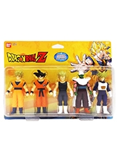 Set Figuras Dragon Ball Z Soft 5 Pack Bandai