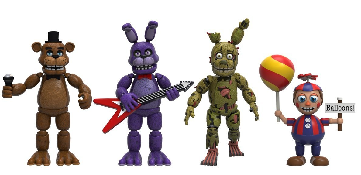 Figuras Five Nights At Freddys Set 2 Quot Funko Microplay