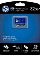 Pendrive 32Gb Azul  Hp