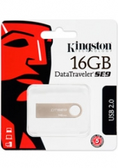 Flash Data Traveler SE9 16Gb Metal Kingston