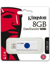 Pendrive DT106 Retráctil Azul 16Gb Kingston