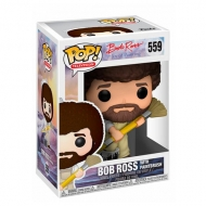 Funko POP! Bob Ross With Paintbrush Overalls