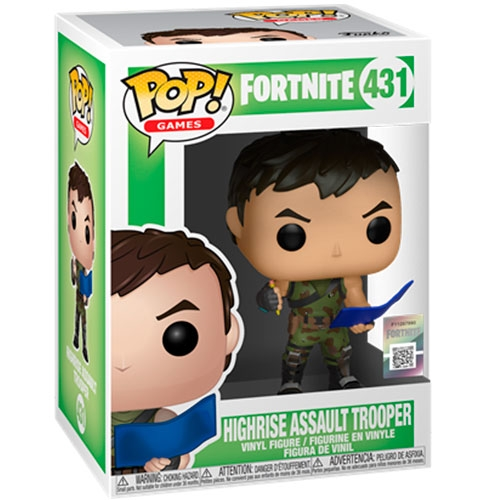 Funko POP! Fortnite Highrise Assault Trooper
