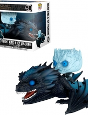 Funko POP! Game of Thrones Night King & Icy Viserion