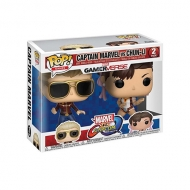 Funko POP! Marvel vs Capcom Captain Marvel vs Chun-Li