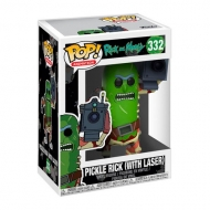 Funko POP! Rick And Morty Pickle Rick Whit Laser