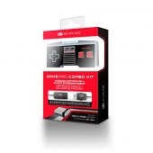 gamepad, kit nes, ness classic, control, inalambrico, cable 3m, extencion