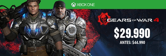 Gears of War 4 Xbox One $29.990