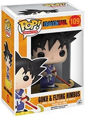 Figura POP Dragon Ball Goku & Flying Nimbus Funko