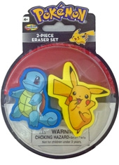 Goma de borrar Pokemon 2 Pack