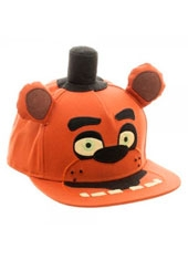 Jockey Five Night At Freddy Big Face Snapback