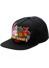 Jockey Five Night At Freddy Negro Snapback