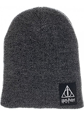 Gorro Harry Potter Deathly Hallows Slouch Beanie