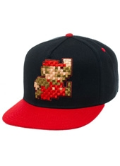Jockey Nintendo Pixel Mario Black Red