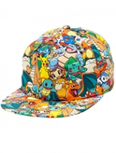 Gorro Pokemon All Over Print Sublimated Cap