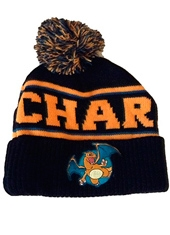 Gorro Pokemon Charizard Black Beanie