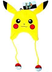 Gorro Pokemon Pikachu Big Face Laplander