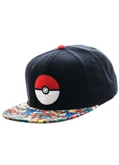 Gorro Pokemon Pokeball Snapback