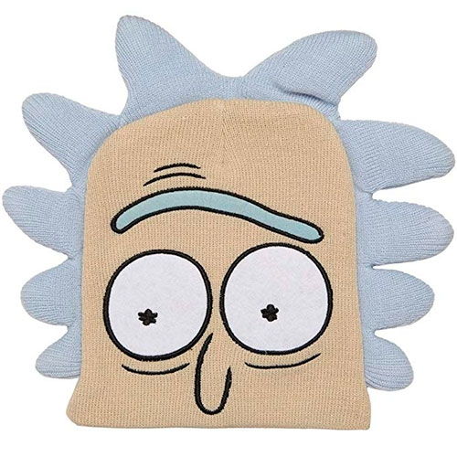 Gorro Rick & Morty Cut Fabric Embroide Beanie