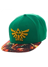 Gorro Nintendo The Legend Of Zelda Sublimated Bill Snapback