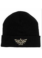 Gorro Nintendo The Legend Of Zelda Black Cuff Beanie