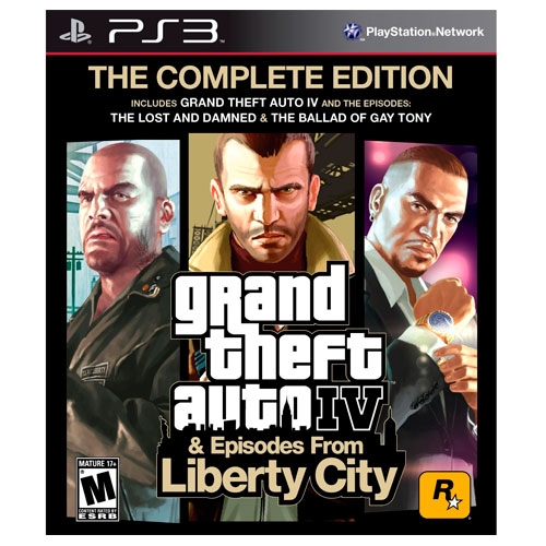 Grand Theft Auto IV GTA IV Complete Edition PS3