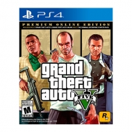 GTA V Grand Theft Auto V Premium Online Edition PS4
