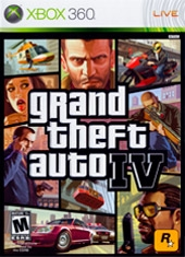 Grand Theft Auto IV GTA IV Xbox 360