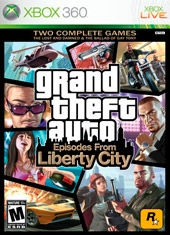 Grand Theft Auto GTA Episodes from Liberty City Xbox 360