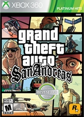 Grand Theft Auto GTA San Andreas Xbox 360