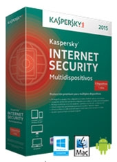 Internet Security Kaspersky 1 usuario