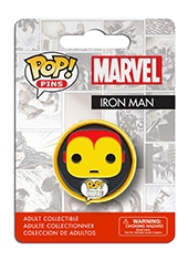 Figura POP! Pins! Marvel Iron Man