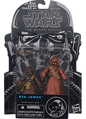 "Figura Star Wars The Black Series 3.75"" Jawas"