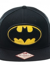 Jockey Batman Logo Mens Black Snapback