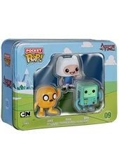 Figuras Pocket POP! Adventure Time 3-Pack