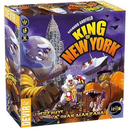 Juego De Mesa King Of New York